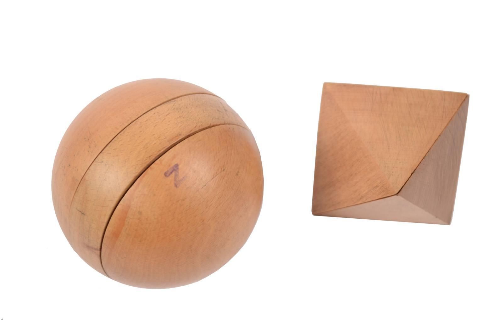 Strumenti di misura antichi/6109-14 solidi geometrici