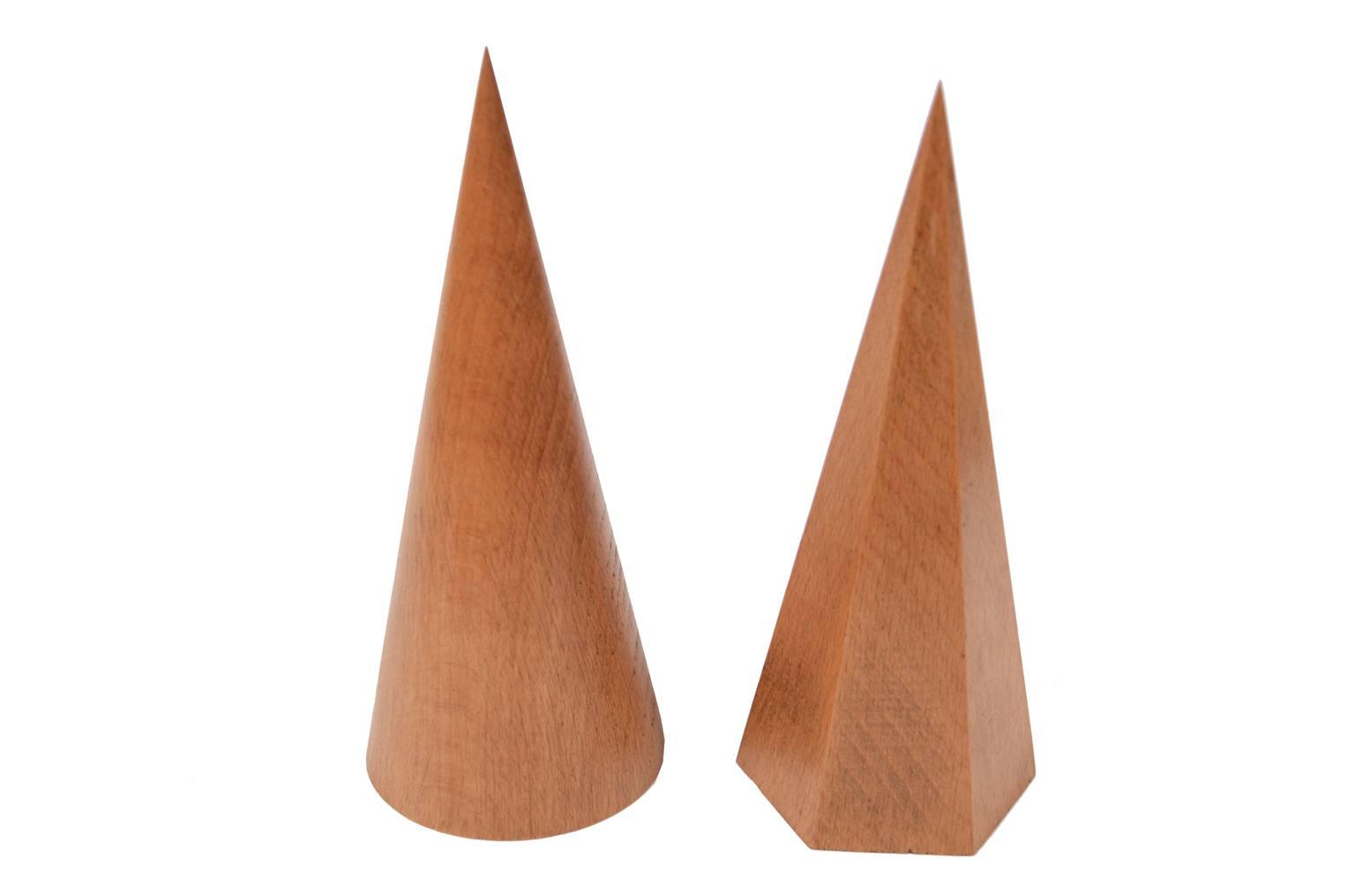 Strumenti di misura antichi/6115-6 solidi geometrici