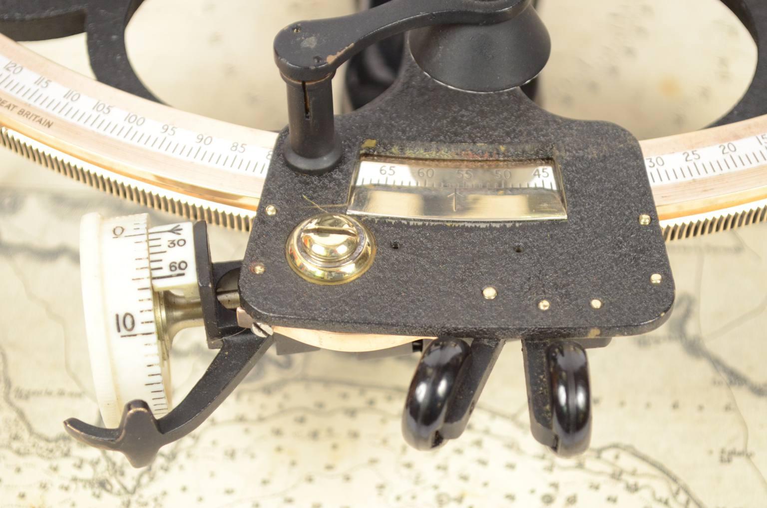 航海类古董/6225-古代六分仪