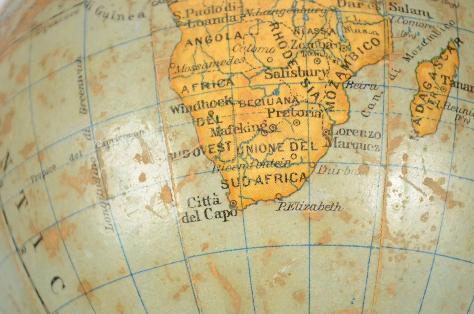 Globi-mappamondi antichi/6238-Globo Vallardi