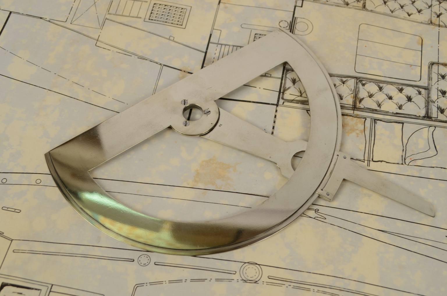 Antiquariato nautico/6249-Staziografo epoca