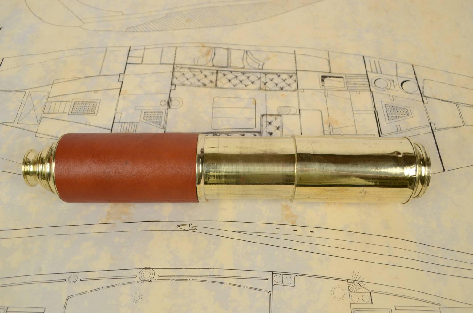 Antiquariato nautico/6280A-Cannocchiale antico