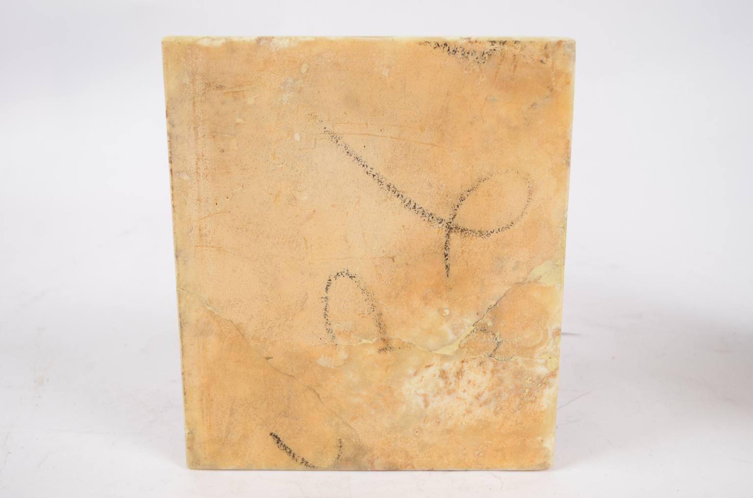 Antiquariato nautico/6324-Coppia di fermalibri