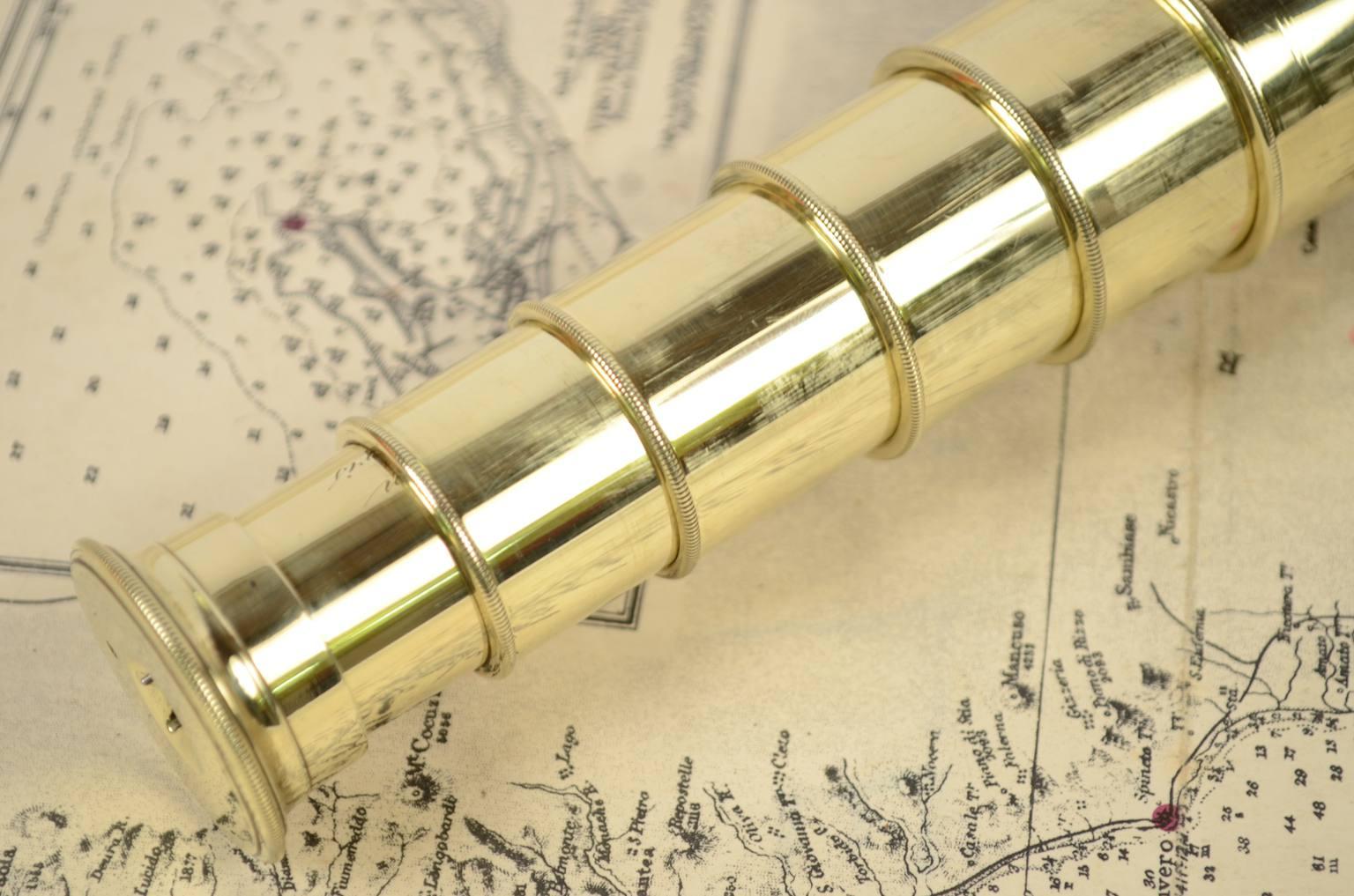 Antiquariato nautico/6335-Cannocchiale epoca