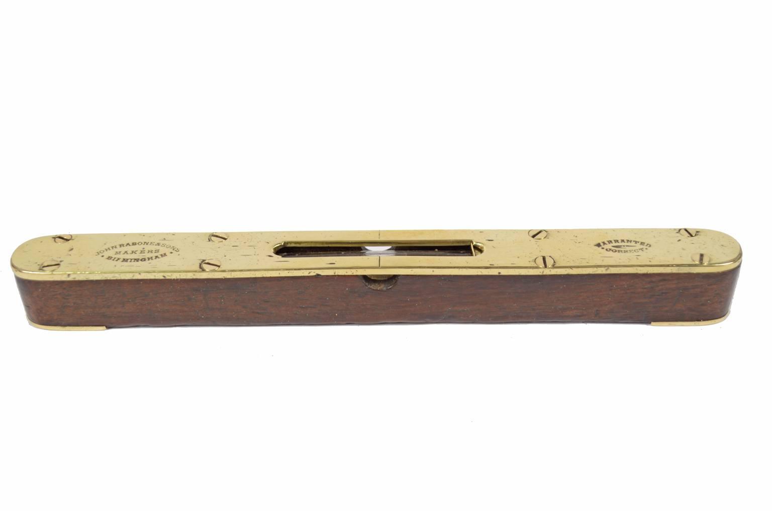 Strumenti di misura antichi/6346-Livella Rabone