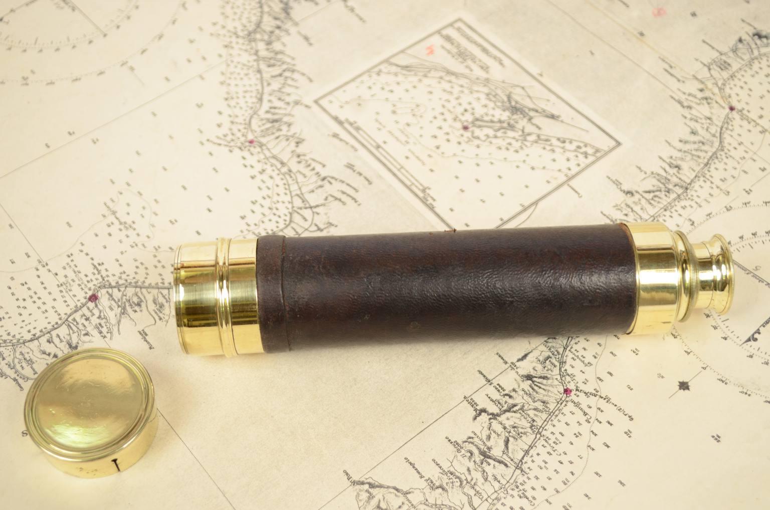 Antiquariato nautico/6394-Antico cannocchiale