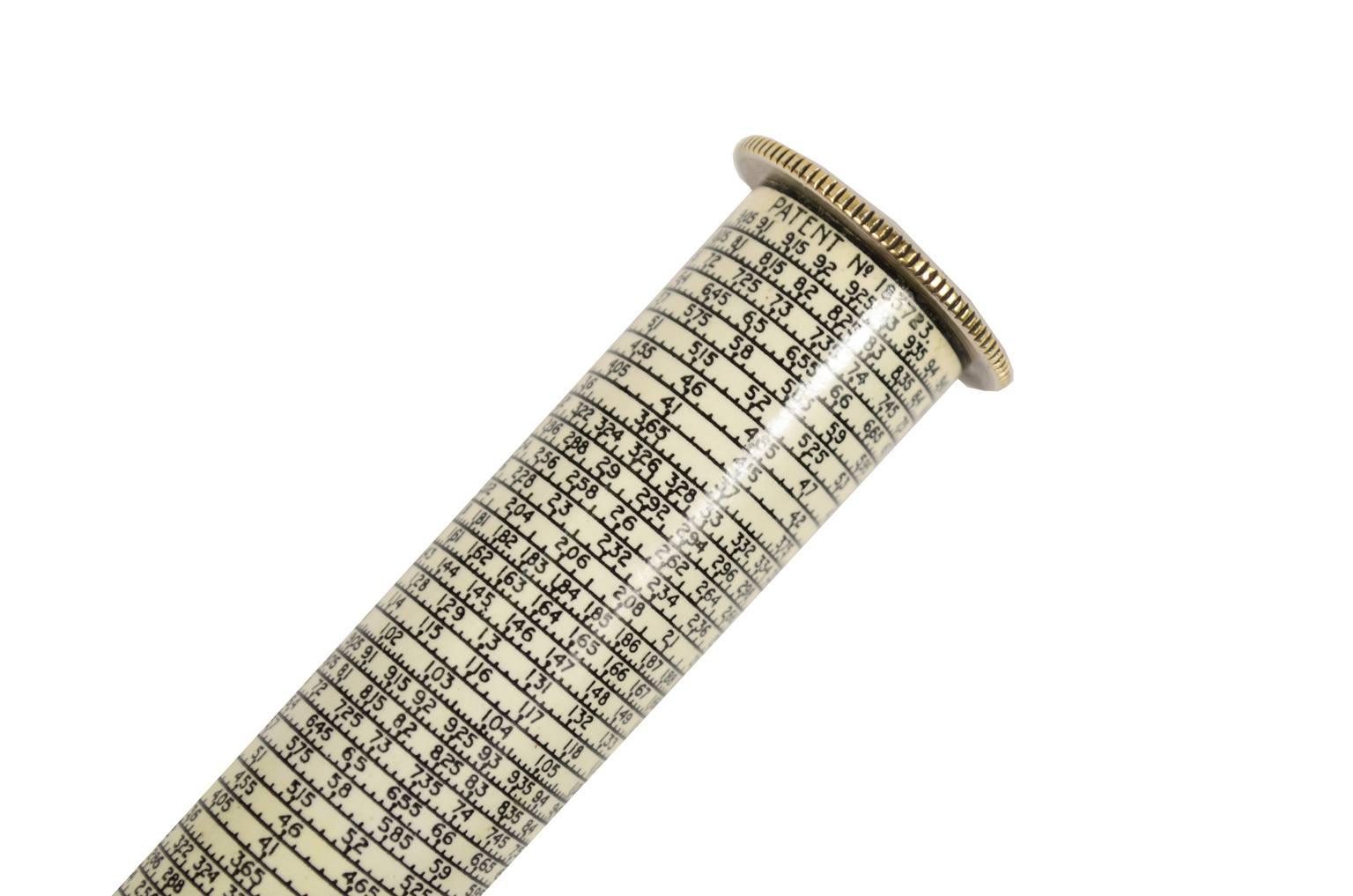 Strumenti di misura antichi/6448A-Regolo calcolatore epoca