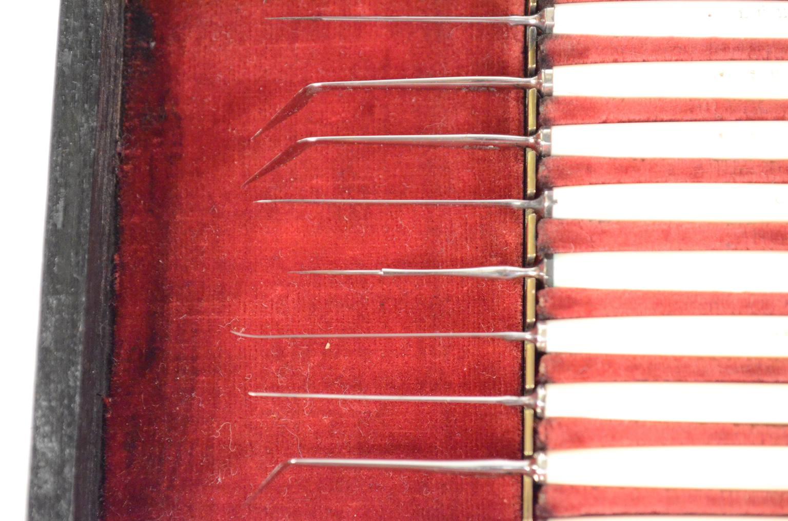 Strumenti medici d'epoca/6487-Set oculistico