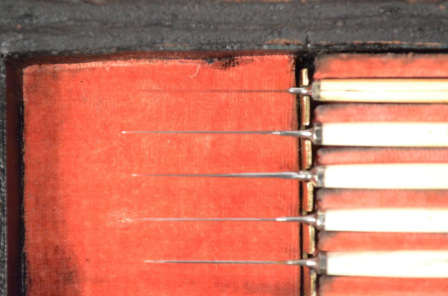 Strumenti medici d'epoca/6488-Set oculista