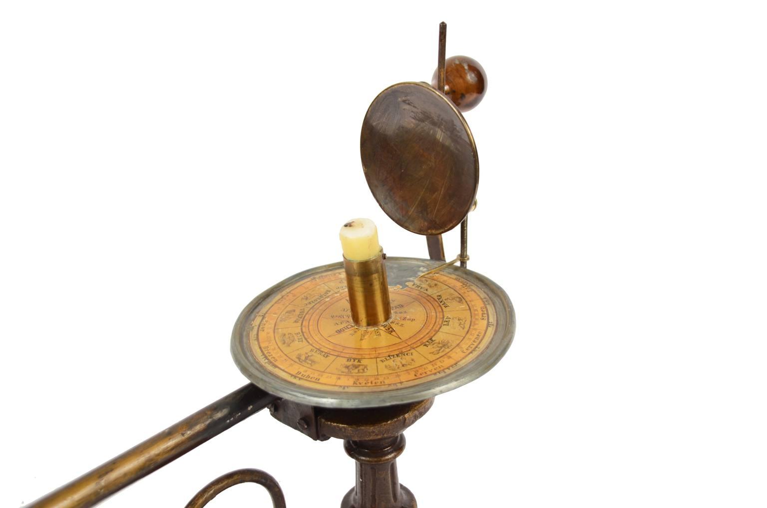 Strumenti astronomici antichi/6495-Planetario epoca