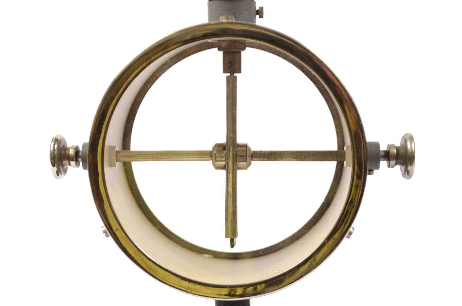 Strumenti di misura antichi/A10-Elettroscopio antico