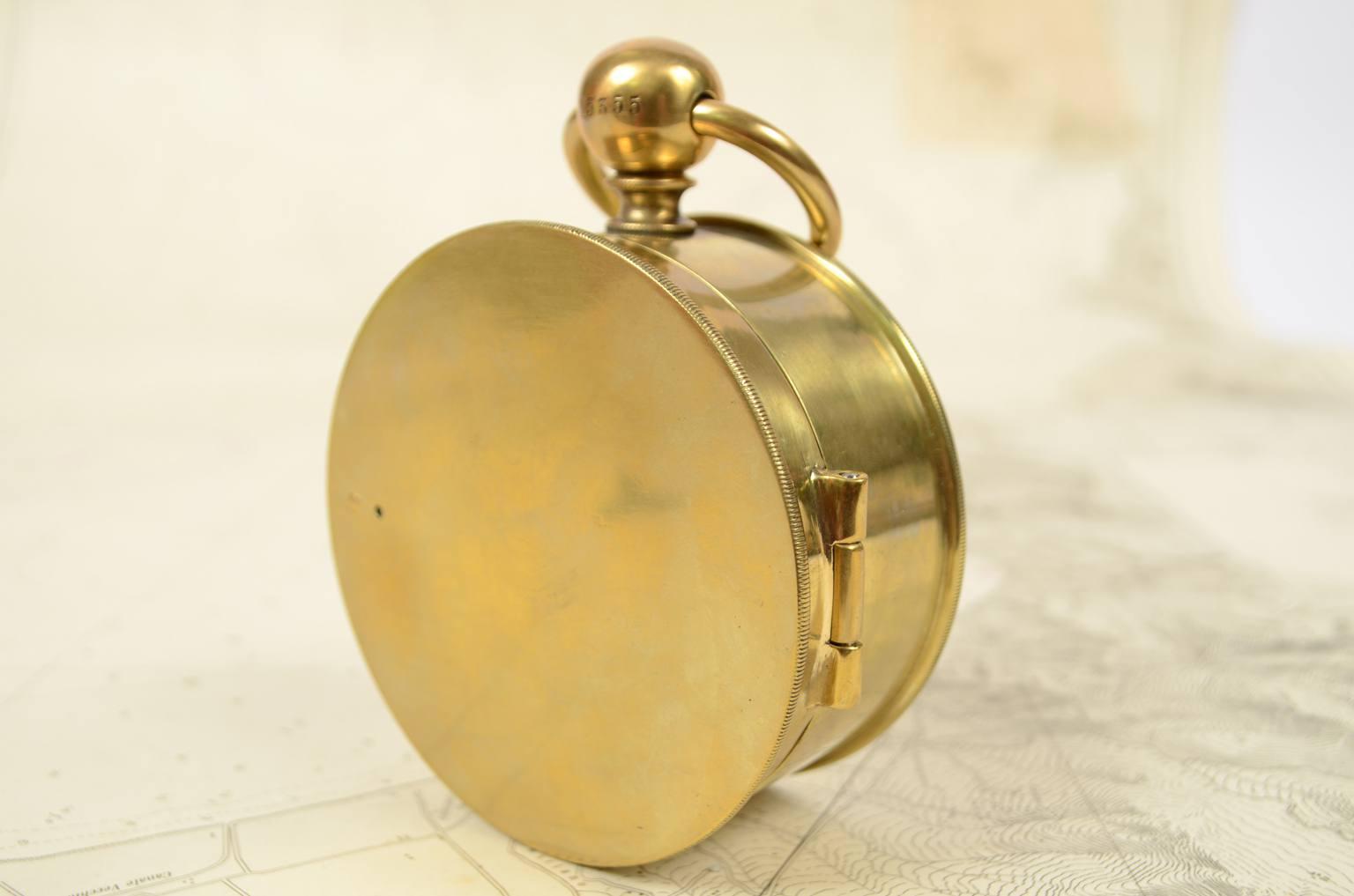 Strumenti di misura antichi/A134-Orologio da metronotte