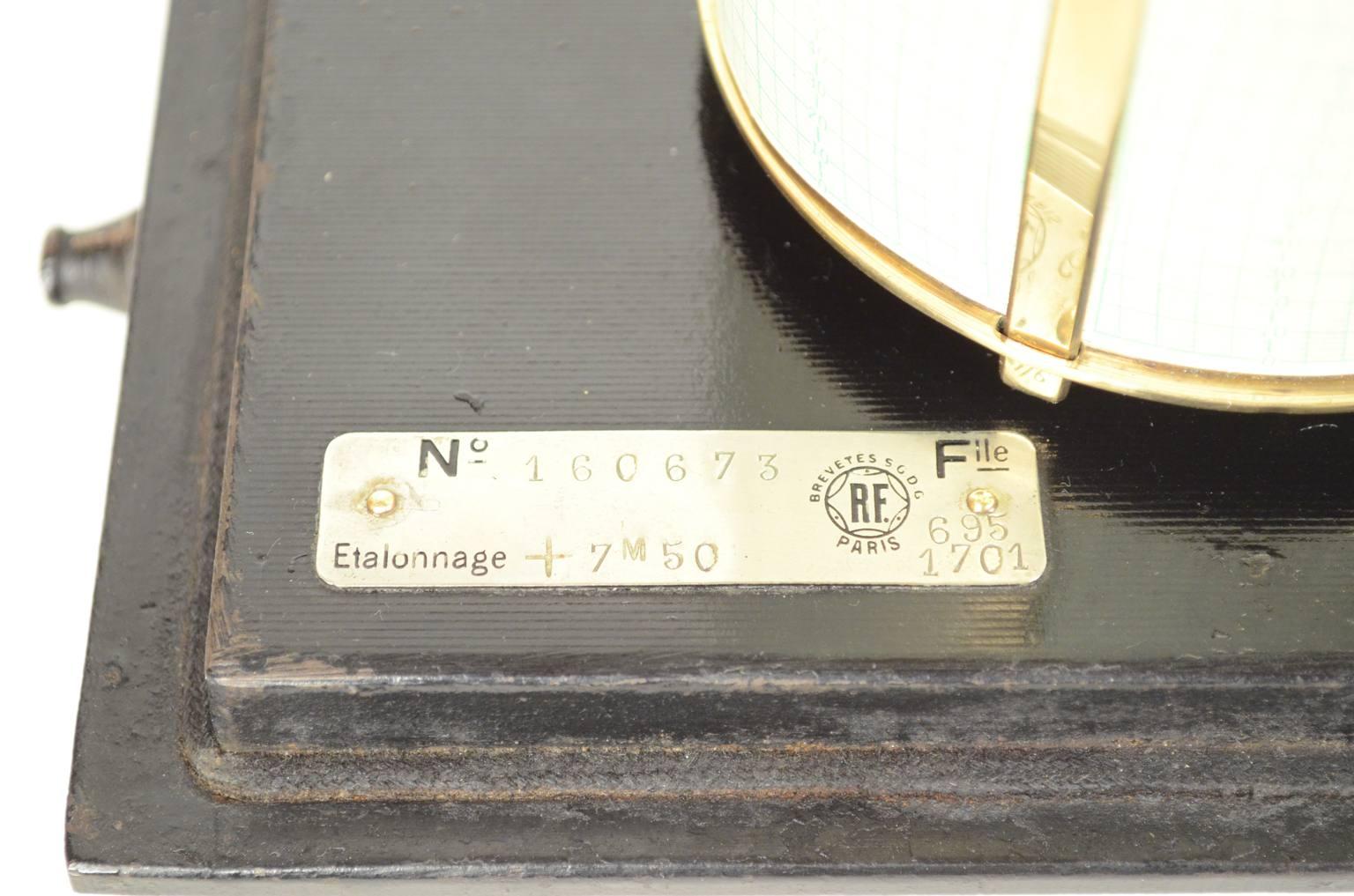 Barometri antichi/A43A-Barografo antico