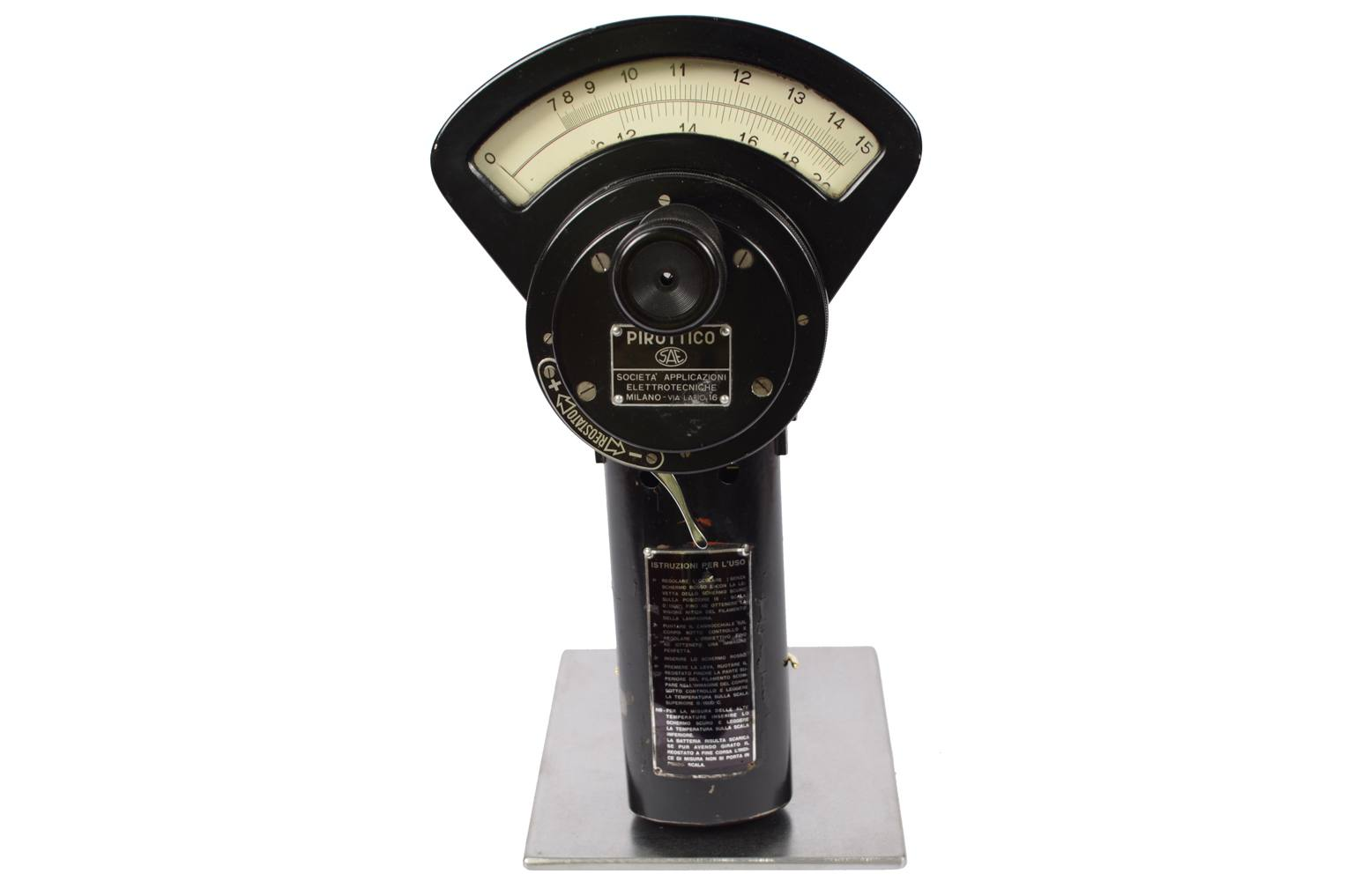 Strumenti di misura antichi/A83-Pirottico 1950