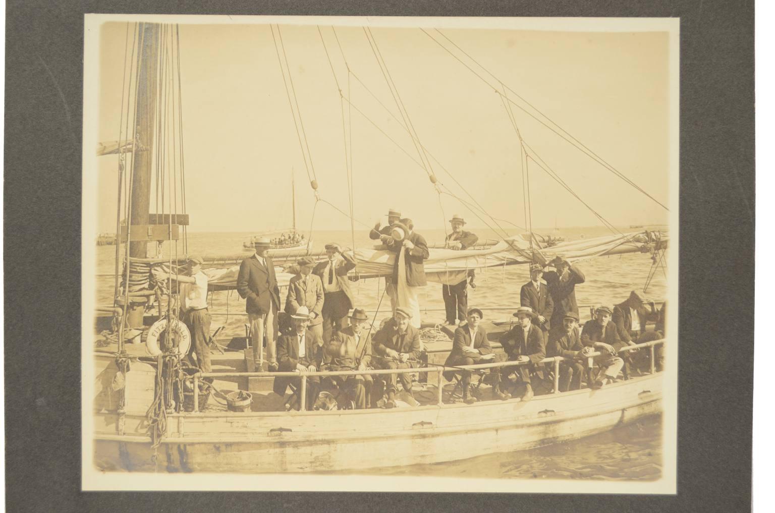 航海类古董/Ft1-Fitzgerald风船的历史照
