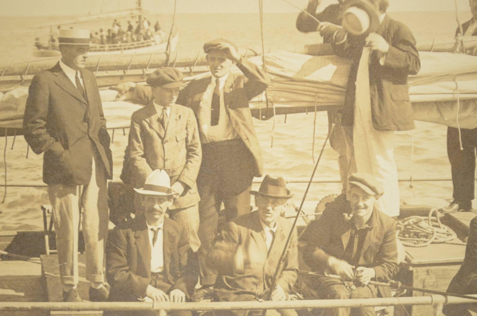 Antiquariato nautico/Ft1-Foto barca Fitzgerald