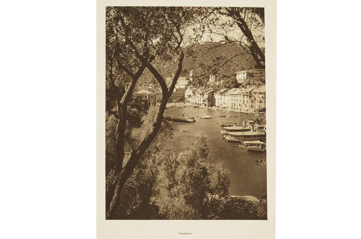 Antiquariato nautico/Lt1-Litografia Portofino