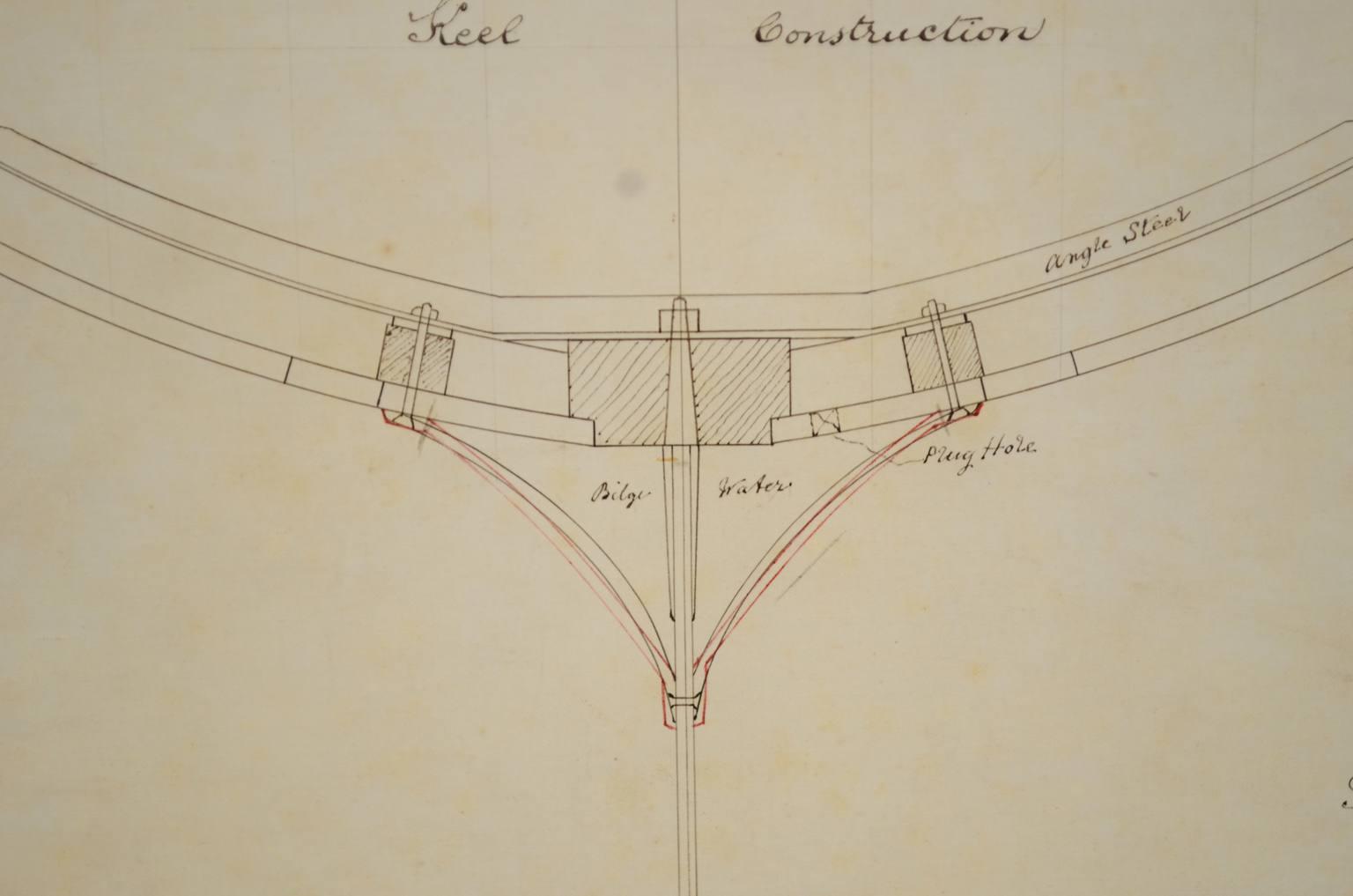 Progetti di barche d'epoca/PR08-C Sibbick linear rater