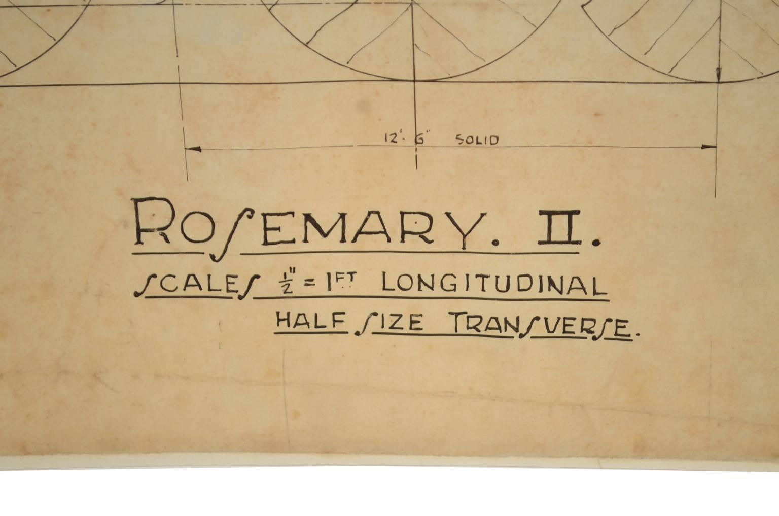 Progetti di barche d'epoca/PR37-Rosemary