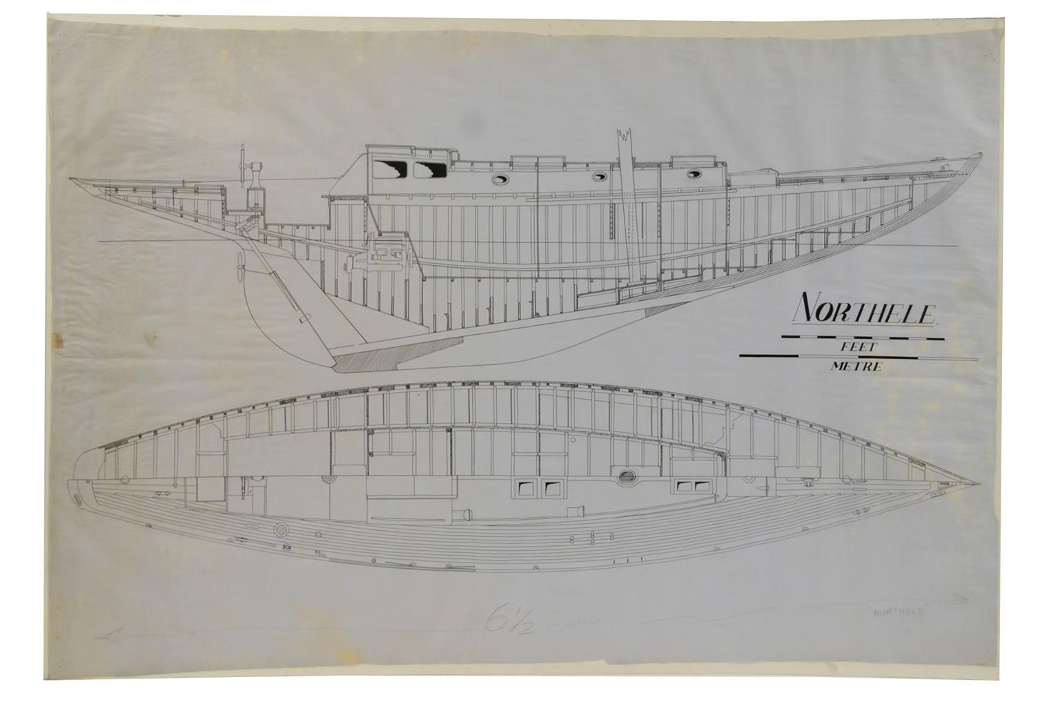 Progetti di barche d'epoca/PR49-Northele