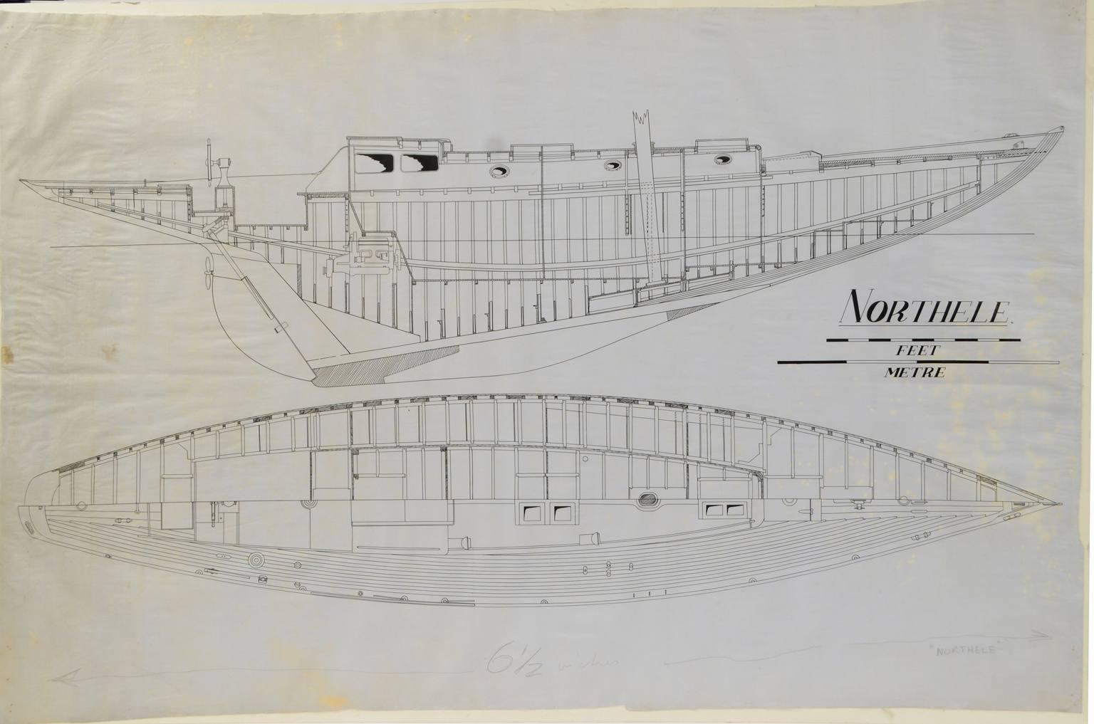 Progetti di barche d'epoca/PR50-Northele