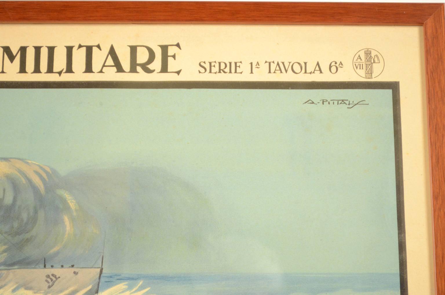 Antiquariato nautico/REX002-Poster Marina Militare