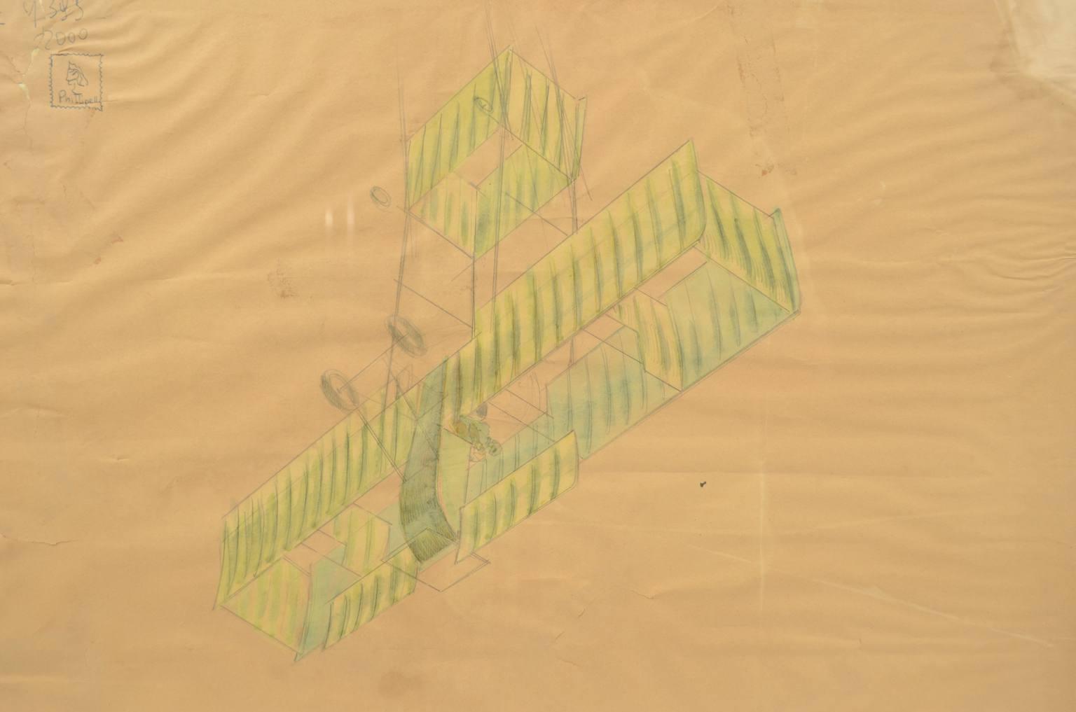 旧时的飞机/sc-混合技术图纸