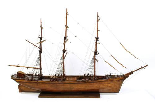 舰船模型/2-古董的双桅帆船/更多信息