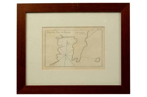 Nautical antiques/2507-Plan du Port de Cherfe/More info
