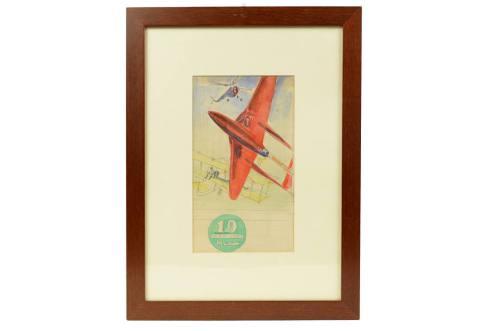 旧时的飞机/3586-水彩画草图 2/更多信息