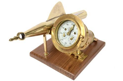 航海类古董/4509-Cherub III 铜质记速器/更多信息
