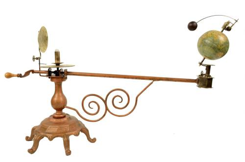 Astronomical instruments/457A-Felkl orrery/More info