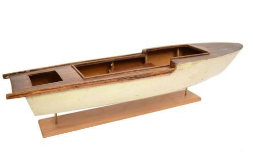 Old ship models/4635A-Motorboat model/More info