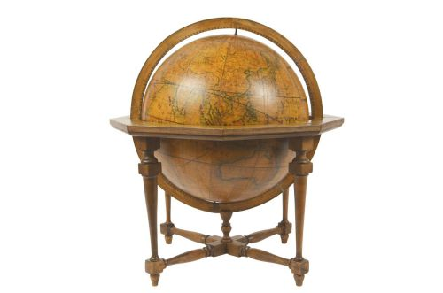 Antique globes-world maps/477A-Antique globe Cassini/More info