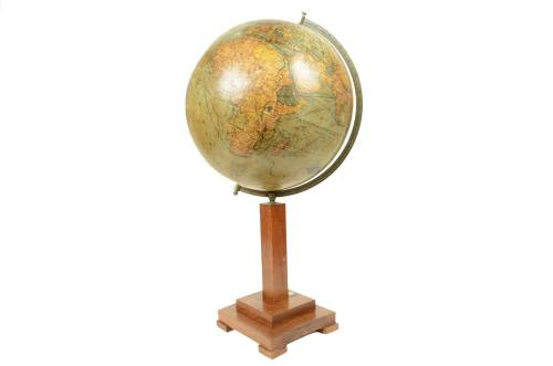 Antique globes-world maps/4972-Columbus globe/More info