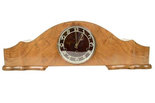 Antique measuring instruments/5074-Table clock made in Italy/More info