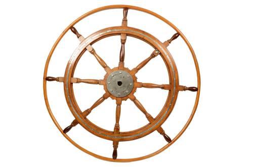 Antiquariato nautico/5363b-Grande timone/Più info