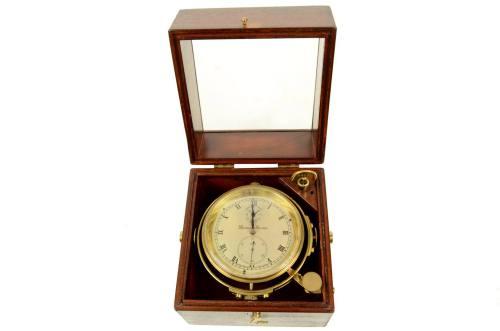 Antiquariato nautico/5383A-Cronometro Mercer/Più info