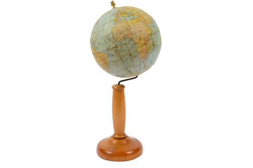 Antique globes-world maps/5387-Antique globe Thomas/More info