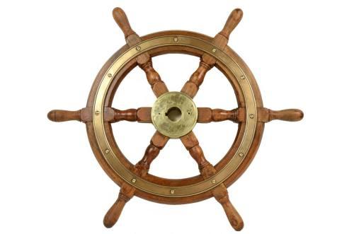 Antiquariato nautico/5484-Antico timone/Più info