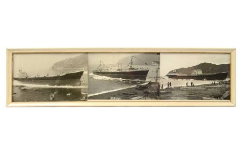 Nautical antiques/5497A-Riva Trigoso ships/More info