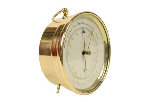 Antique barometers/5562-Aneroid barometer/More info