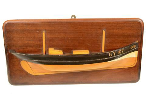 Modelli di navi d'epoca/5607-Mezzo scafo goletta/Più info