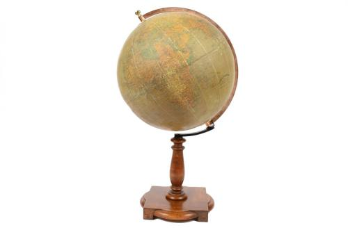 Antique globes-world maps/5785-Vallardi antique globe/More info
