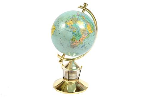 Antique globes-world maps/5894-German globe 1950s/More info