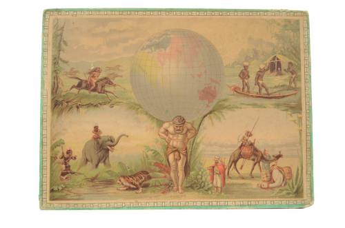 Antique globes-world maps/6337-World map puzzle/More info