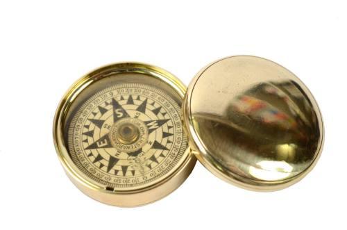 古罗盘/5993-干指南针放在原来的盒子/更多信息