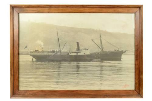 航海类古董/6035-大黑白历史图片/更多信息
