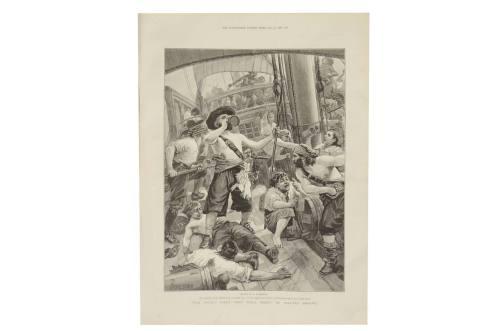 Antiquariato nautico/6088-Illustrazione pirati/Più info