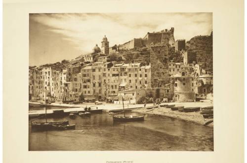航海类古董/6089-双面光刻描绘了Portovenere/更多信息